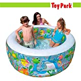 #4: Toy Park -Intex Kiddie Swimming Pool, Inflatable Aquarium Pool 58480