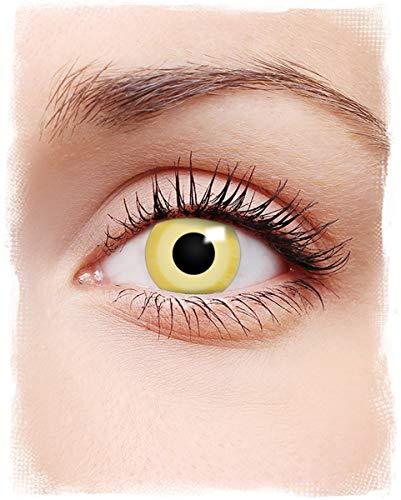 Horror-Shop Weiche Avatar 3 Monats Kontaktlinsen für Halloween & Fasching