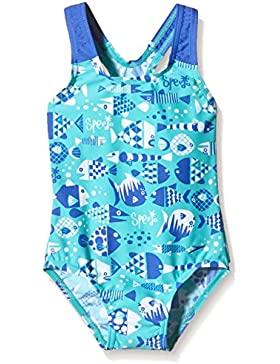 Speedo Baby Badeanzug Funny Fish Essential mit Allover-Print