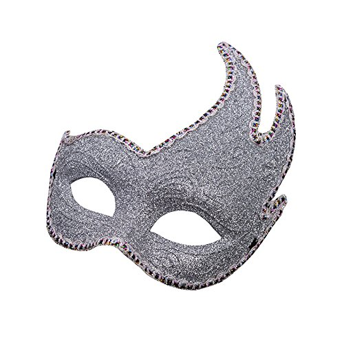 Venetian silver white white colorful glitter mask masquerade masks ball carnival costume carnival costume shades of gray mr gray men women men women glittering midnight black