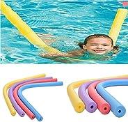 Flexible Floating Swimming Pool Noodle Swim Kickboard Water Float Aid Woggle Noodles Hollow Learn Swimming Foa