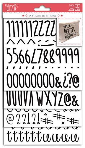Mademoiselle Toga 15682Números letras thermocollants