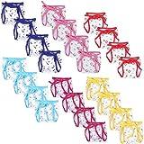 BABY CARE REUSABLE CLOTH LANGOTS (Set Of 20 Pieces) (Multicolor)