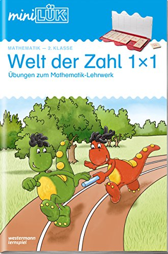 miniLÜK / Mathematik: miniLÜK: 2. Klasse - Mathematik: Welt der Zahl 1 x 1 - Übungen angelehnt an das Lehrwerk - Klasse Welt