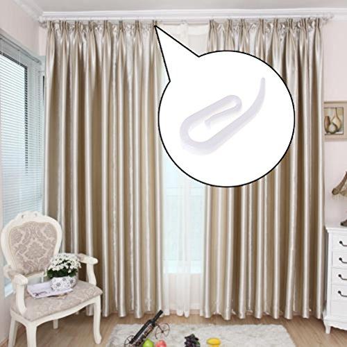 200 stck kunststoff vorhang haken fr fenster vorhang tr vorhang und vorhang fr die dusche wei - Vorhang Dusche Fenster