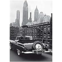 Postkarte A6 +++ SCHWARZ-WEISS von modern times +++ MARILYN AND ARTHUR, NEW YORK CITY +++ ARTCONCEPT/NEWS © SHAW, Sam/Shaw Family Archives