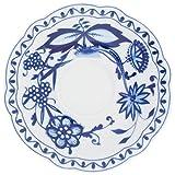 Kahla Rossella Untertasse, Teller, Porzellan, Zwiebelmuster, 15 cm, 173504A72067U