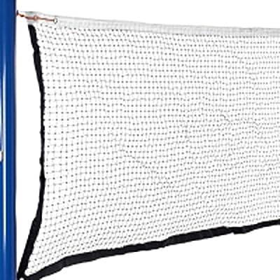 Al aire libre Bádminton Voleibol deportes resistente patrón de malla plegable red sólo
