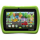 "LeapFrog Epic 7"" Android-based Kids Tablet 16GB, Green by Leapfrog"