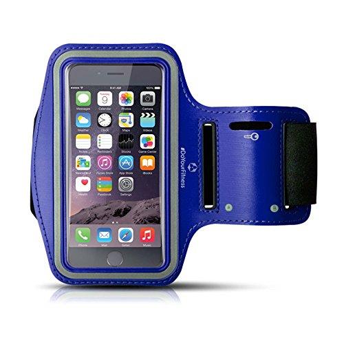Sportarmband »RunnerMan« SMALL / Jogging- und Laufarmband / S-60 cm / Navyblau (Nokia Lumia 928 Case Blau)