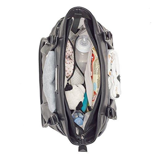Babymoov A043570 Wickeltasche Glitter Bag, schwarz - 4