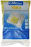 McFilter YSM 8 - 10 Staubsaugerbeutel geeignet für Bob-Home, Clatronic, Dirt Devil, Privileg, Severin, SOLAC, Tristar uvm.