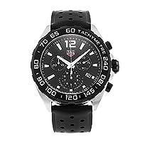 TAG Heuer CAZ1010.FT8024 - Reloj cronógrafo de Cuarzo para Hombre, Esfera Negra, Acero Inoxidable