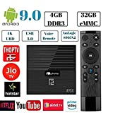 PHANTIO A95X F2 Android 9.0 4K Smart TV Box : 4GB DDR3 32GB