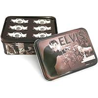 Elvis Presley 'Hound cane biglietti regalo di (Elvis Presley Tin)