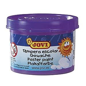 Jovi - Estuche témpera, 5 Botes 35 ml, Color Violeta (50323)