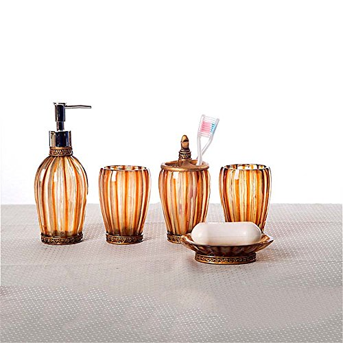 MIAORUI résine de haut grade de salle de bains bureau / fournitures de salle de bains salle cinq décoration / activités créatives
