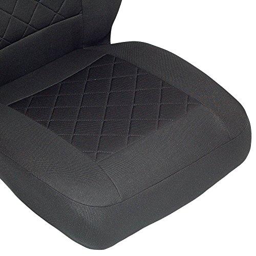 /Producto Premium Negro tintada cuadros NV300/Fundas de asiento/ /1/set/