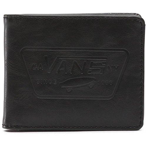Vans Bifold Brieftasche Full Patch Schwarz (One Size , Schwarz)