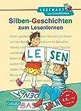 LESEMAUS zum Lesenlernen Sammelbände: Silben-Geschichten zum Lesenlernen: Extra Lesetraining – Lesetexte mit farbiger Silbenmarkierung