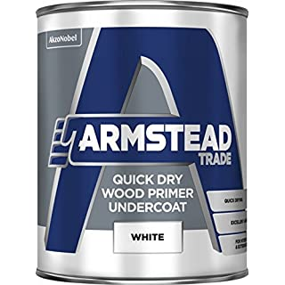 Armstead Trade Quick Dry Wood Primer Undercoat 1 Litre