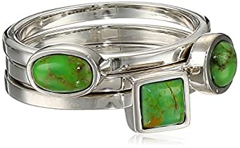 Barse Basics Lime Turquoise Stackable Ring