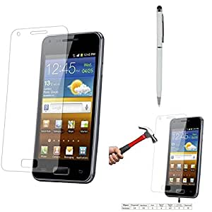 Qualitas Pack of 5 Tempered Glass for Huawei Honor 6 + Pen Stylus