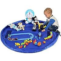 TBoonor Kinder Aufräumsack Spieldecke Spielzeug Speicher Tasche Aufbewahrung Beutel Spielzeugaufbewahrung XL preisvergleich bei kinderzimmerdekopreise.eu