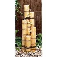 5-stufiger Bambus-Brunnen