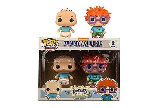 Funko - Figurine Nickelodeon Les Razmokets - 2-Pack Casse Bonbon Et La Binocle Exclu Pop 10cm - 0889698215329
