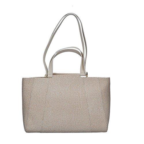 Bianco Bianco Borbonese Shopping Borbonese 903993320 Bag Shopping Donna Donna Bag Borbonese 903993320 UxBwOP