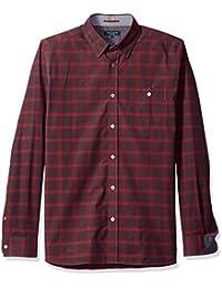 Ted Baker Men's Newpane-Ls Check Shirt