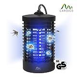 Gardigo - Destructeur d'insectes volants électrique; Pièges à insectes; Lampe UV Anti-mites, moustiques, mouches et moucherons; 4 Watt; testé SGS GS