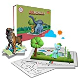 #6: SCIFIKIDS - ARNIMALS New Version Augmented RealityEducational Kit-(iOS & Android)