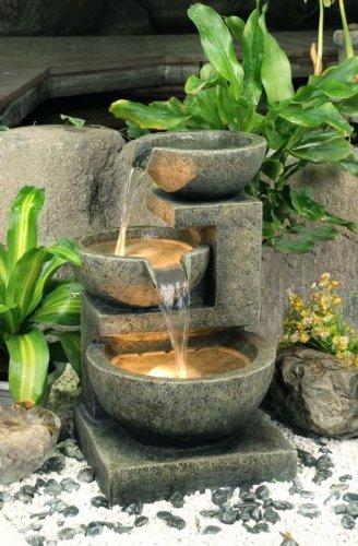Fontana Tre Conche Di Granito con