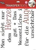 Unbekannt Text Wandtattoo Der kleine Prinz, Einmalig verwendbarer Siebdruck der Zeichnung von Cannetti mit Zitat aus dem Buch von Saint-Exupéry, Maße rotes A: 4,5 x 4 cm, zum Aufrubbeln auf die Wand