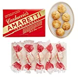 Carluccio's Amaretti Tradizionali - Traditional Hand Rolled and Baked Soft amaretti Biscuits, Made in Italy, 250g