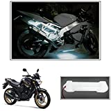 #9: Vheelocityin 10cm Neon Bike Light White - 1pc For Yamaha Fzs