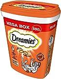 Dreamies Katzensnacks Katzenleckerli MegaBox mit Huhn, 2 Dosen (2 x 350g)