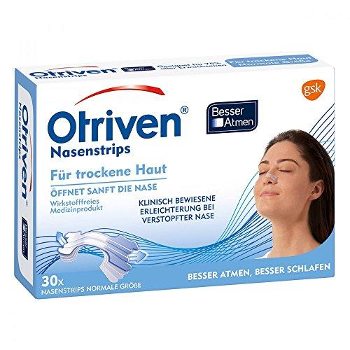 Otriven Besser Atmen Nasenstrips normal transparen 30 stk