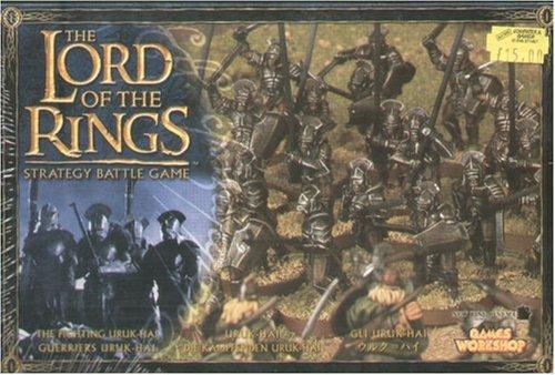 Games Workshop - 99121499005 - Seigneur des Anneaux - Figurine - Guerriers Uruk-Hai