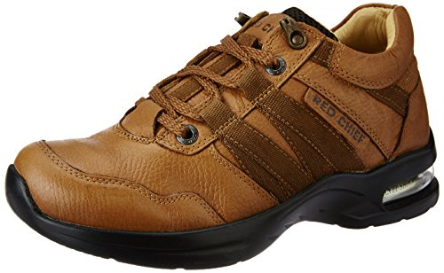 Redchief Men's Cognic Leather  Boots - 6 UK  (RC1976 053) image