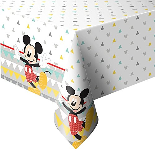 Procos Kunststoff-Tischdecke 120x180 cm Mickey Mouse Awesome Multicolor 5PR89004
