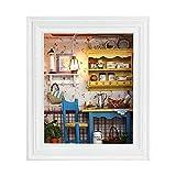 Tosuny Tipo di Cornice per Foto Mini Set di Case delle Bambole Fai-da-Te Mini House Kit con mobili e lampade in Miniatura per la Decorazione Domestica, Bambini, Amici, Amanti