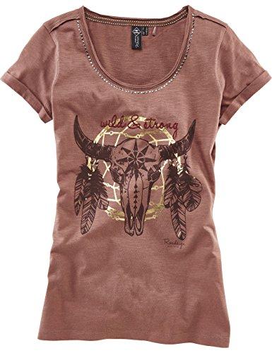 ROADSIGN australia T-Shirt Wild & Strong Braun