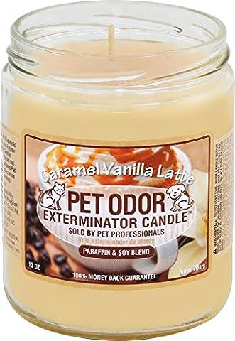 Caramel Vanilla Latte Pet Odor Exterminator 13 Ounce Jar