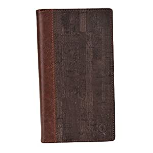 Jo Jo Bark Series Cover Leather Pouch Flip Case For Swipe Virtue Dark Brown