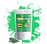 Organic Super Greens Complex | Best Dietary Supplement with 20 Greens & Vegetables