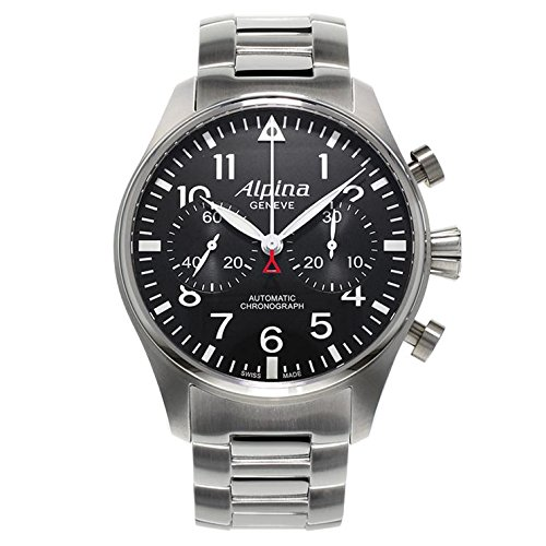 ALPINA STARTIMER Pilot Herren-Armbanduhr 44MM AUTOMATIK AL-860B4S6B
