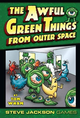 Steve Jackson Games 1335 - Awful Green Things from Outer